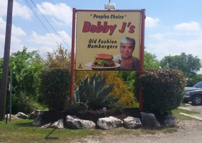 Landscaping Bobby J's In Helotes